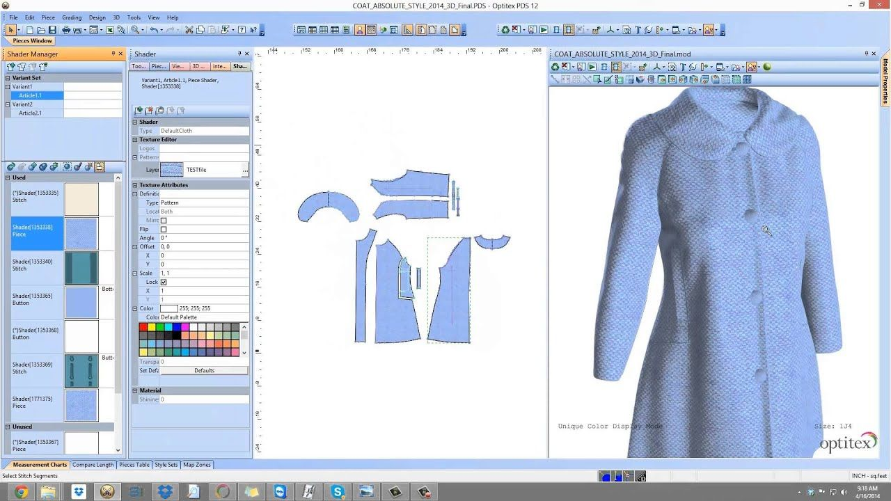 Optitex Virtual Product 3d Fashion Design Software For Textiles Apparel Garment Industry You Clothing Design Software Fashion Design Software Software Design