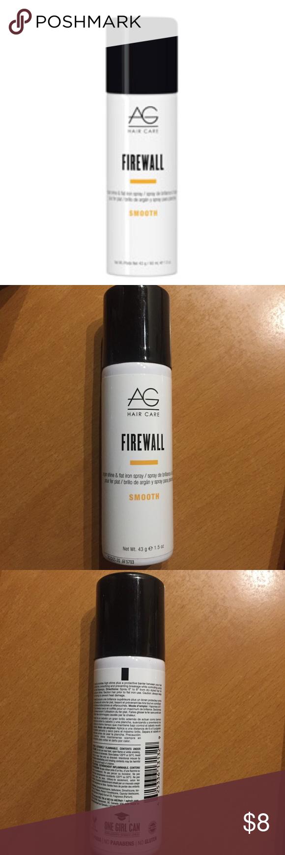 NWT AG Hair Care Protection Spray Firewall Ag hair