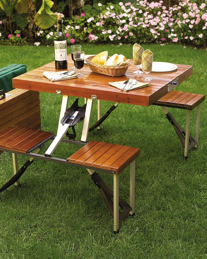 Boutiques. Picnic At Ascot Portable Picnic Table Set