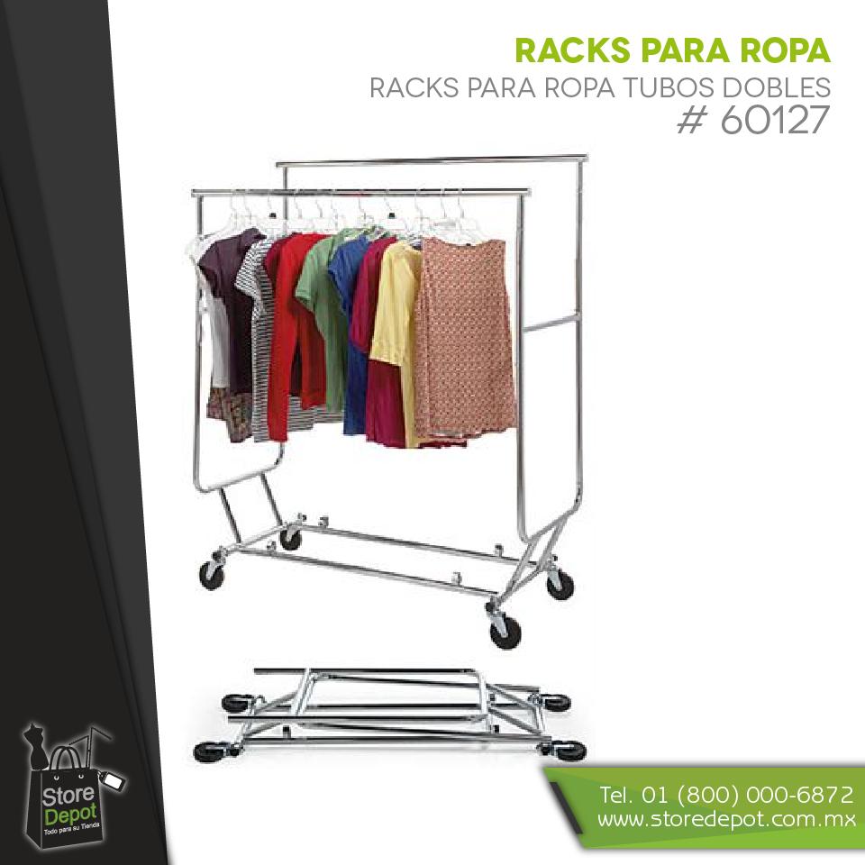 Obtén todo lo necesario en racks para ropa y mucho más para tu boutique en http://www.storedepot.com.mx/