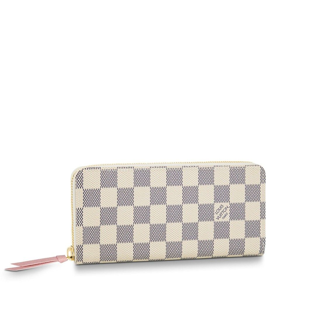 Pre Owned Louis Vuitton Clemence Wallet Damier Azur White Modesens In 2020 Louis Vuitton Clemence Wallet Louis Vuitton Wallet Louis Vuitton