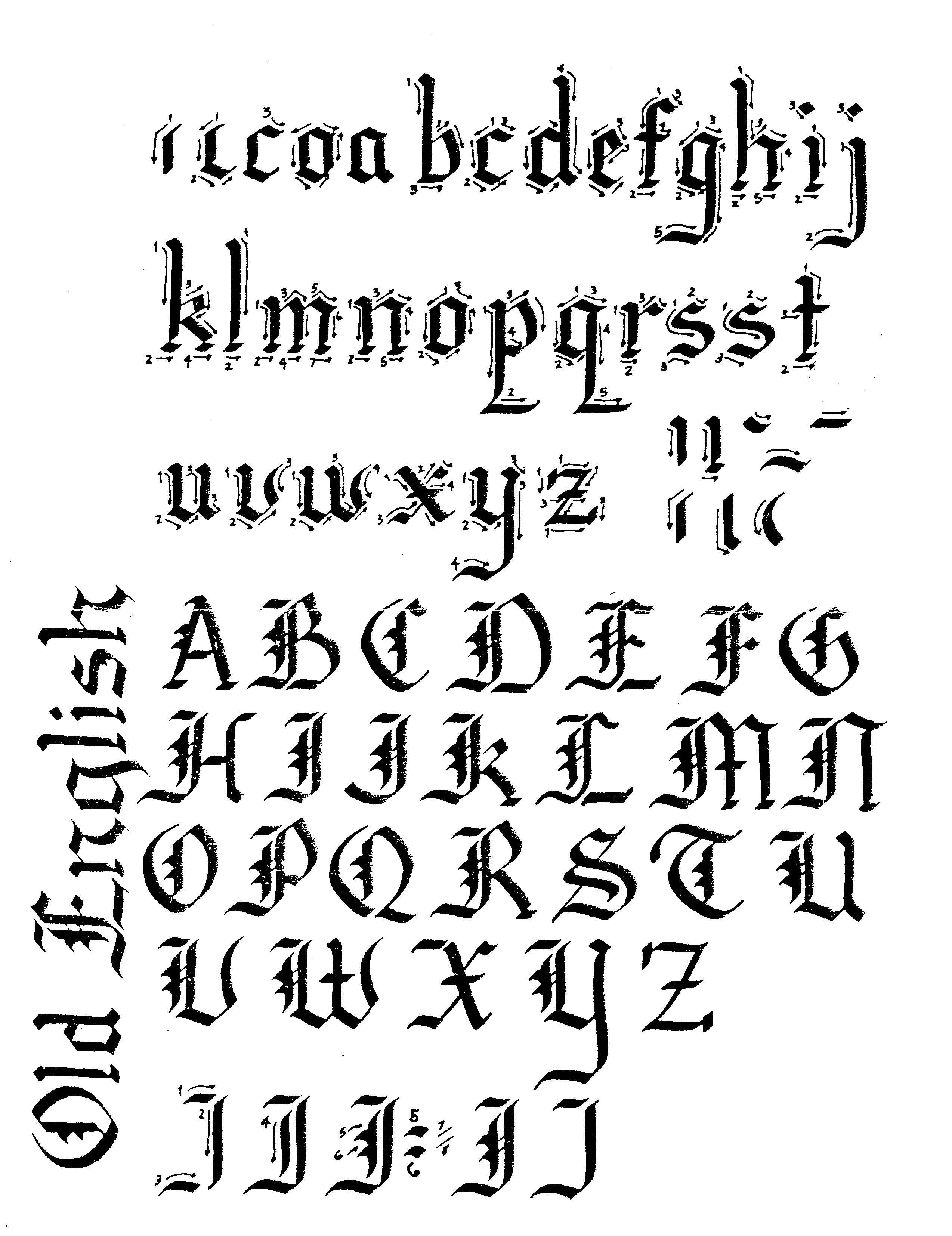 Posts About Old English Lettering On Lettering Art Studio Calligraphy Writing Styles Lettering Calligraphy Letters Alphabet