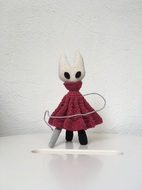 Hollow Knight Amigurumi Plush, Crochet Hollow Knight, Hornet, Geek ...