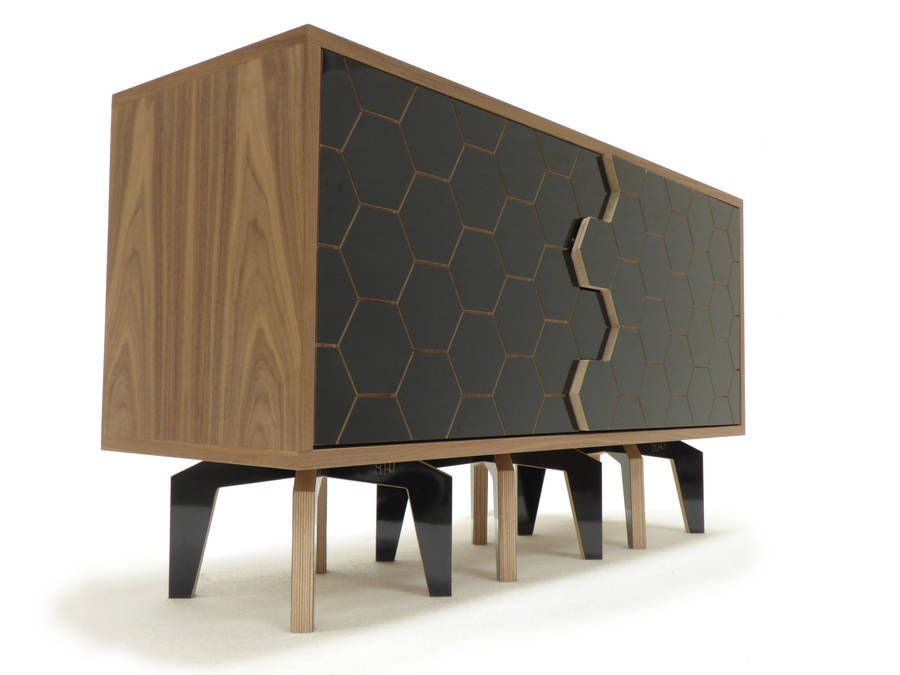 Charmant House Hive Contemporary Media Cabinet Or Sideboard By Soap Designs |  Notonthehighstreet.com