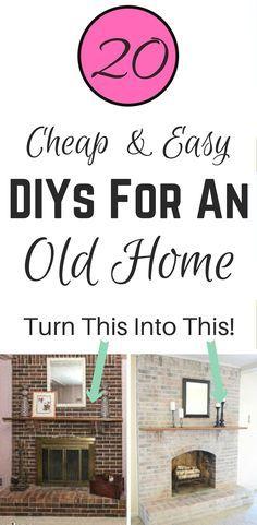 20 DIY Home Improvement Ideas