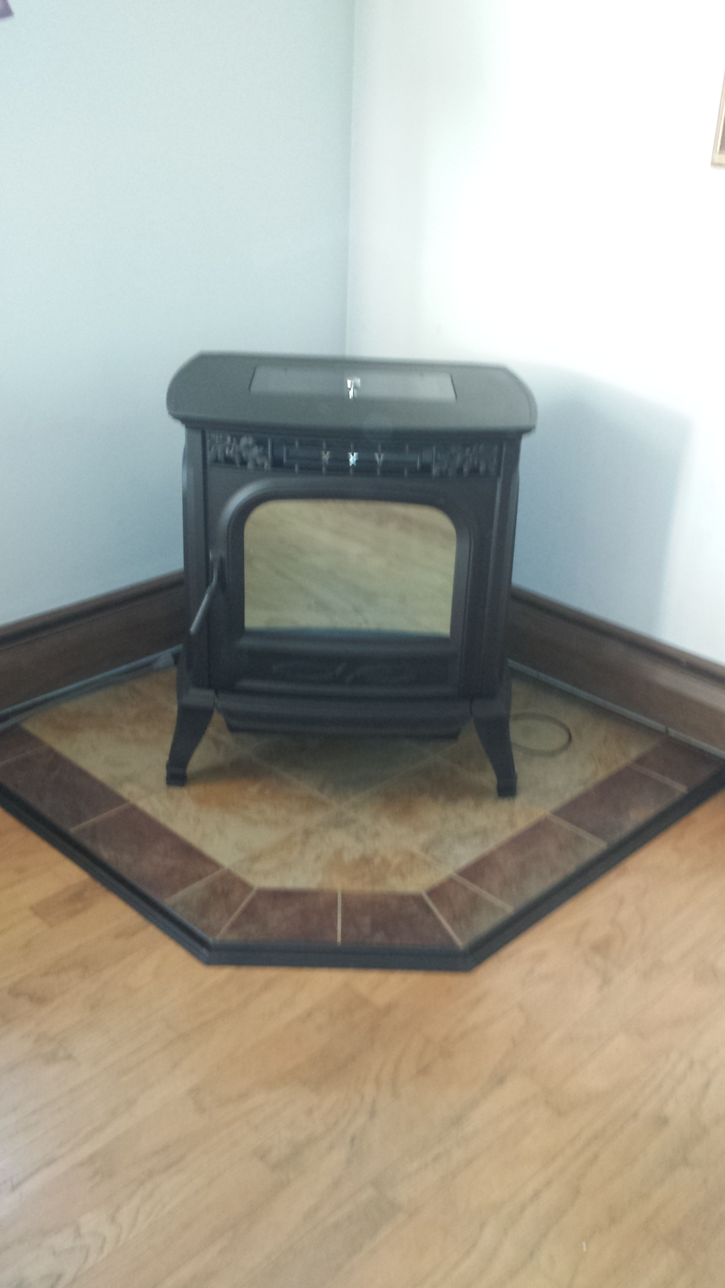 Recently Installed Harman Xxv Pellet Stove Fireplace Stores