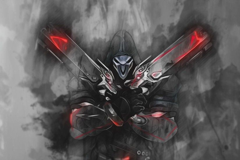 Reaper Overwatch Wallpaper By Raycorethecrawler On