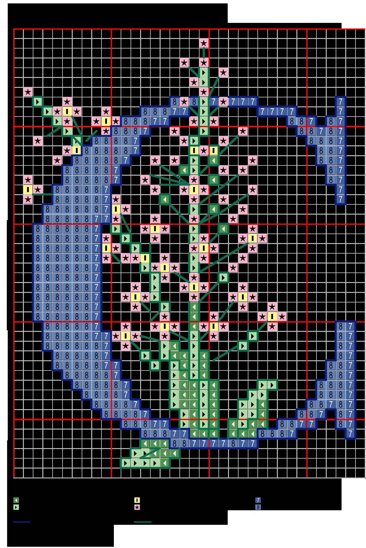Alfabeto colori delicati con fiori c alfabeti a punto for Ricamo punto croce lettere