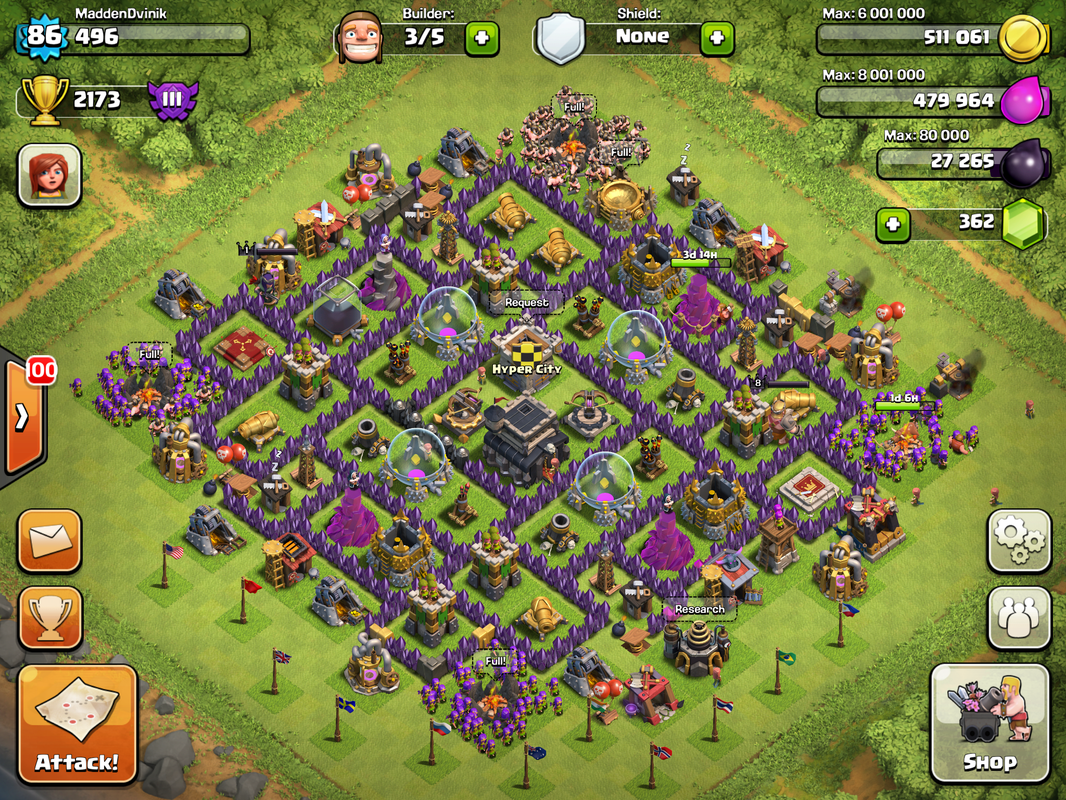 Town hall level bases google search th layouts clash of
