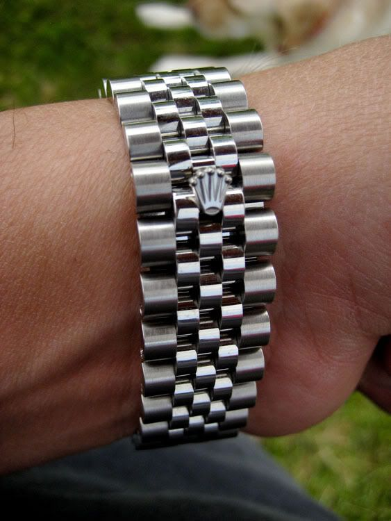 Rolex Super Jubilee Bracelet With Crown Clasp Chess Watches