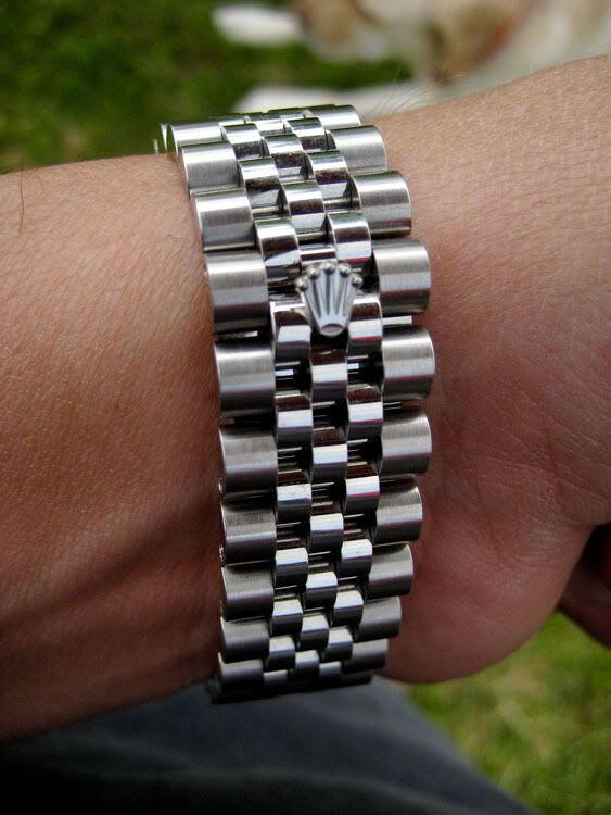 Rolex Super Jubilee Bracelet With Crown Clasp Rolex
