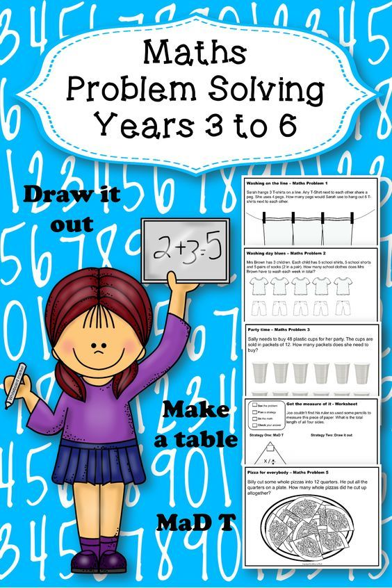 Math Problem Solving Activities | Math strategies, Math and Problem ...