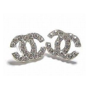 Diamond Chanel Earrings Yes Puhleeese