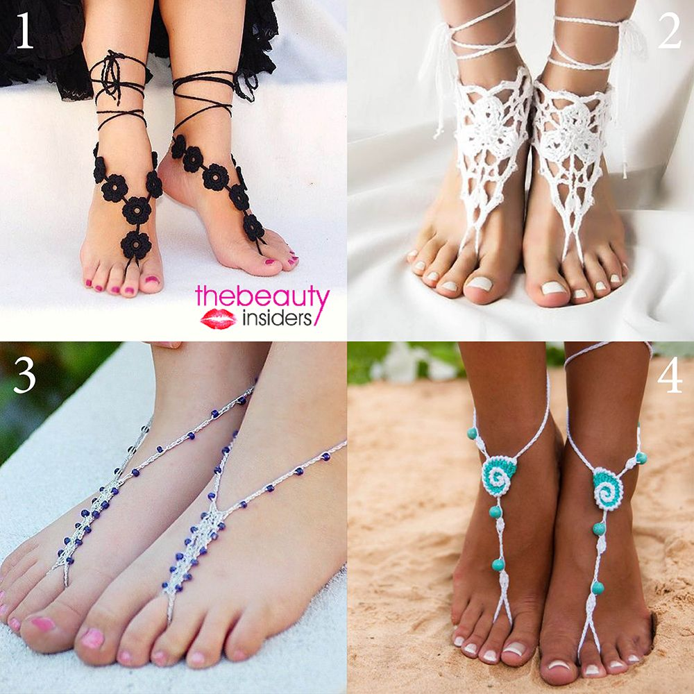 #BareFeetSandals  ... Don't you want one of these ? If yes then which one?