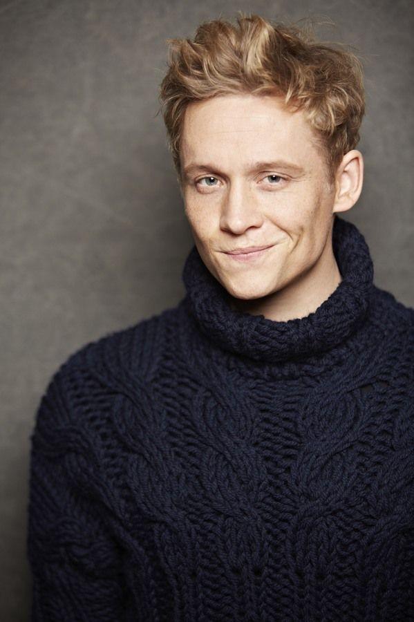 Blonder Schauspieler