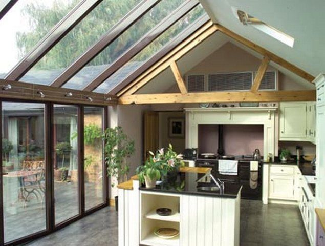 Stunning Mix Of Old And New In This Kitchen Garden Room Extension