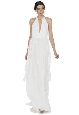 Nomi Drop Dress By Alice Olivia