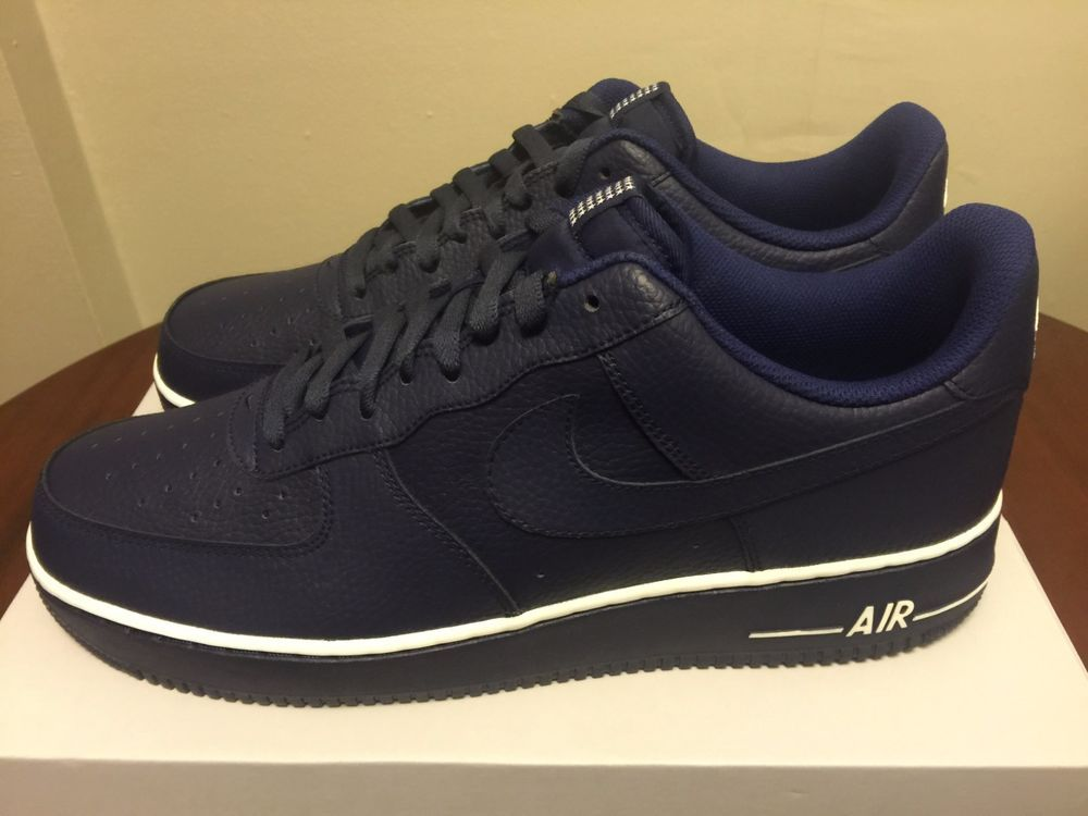 MENS NIKE AIR FORCE 1 LOYAL BLUE 488298-437 SIZE 13 SNEAKERS #Nike #