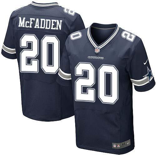 Darren McFadden # 20 Dallas Cowboys Navy Blue Stitched NFL Elite Jersey | Darren  mcfadden, Dallas and Cowboys