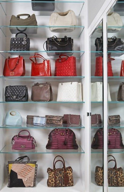 Bon What A Great Way To Store Handbags In Your Closet! (I Wish)
