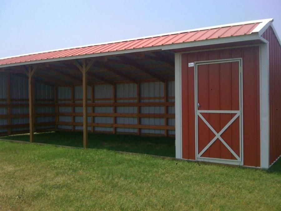 Horse Barn With Feed Room Perfect For Run In Shed If You
