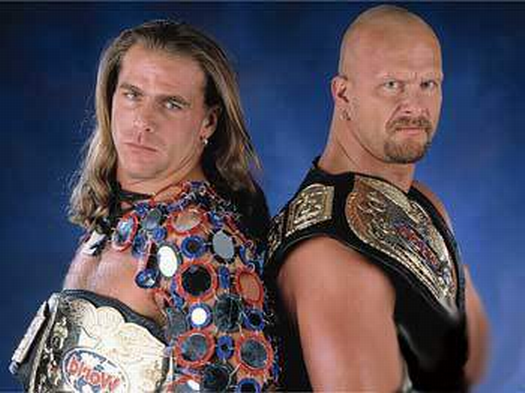 Best Of Wwe 35 Shawn Michaels Amp Steve Austin Vs British Bulldog Amp Owen Hart Wwe Tag Teams Shawn Michaels Wrestling Superstars