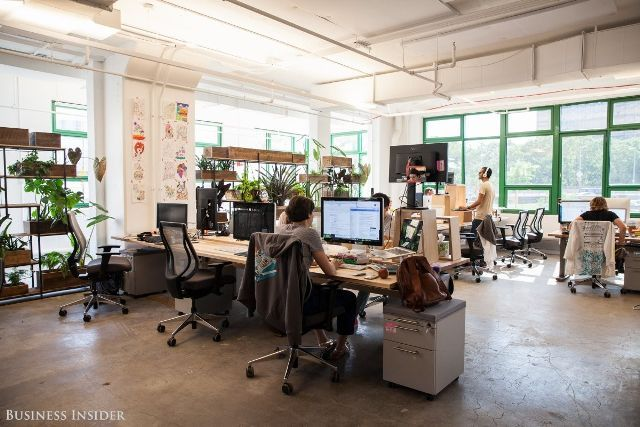 eco friendly office. Tour Etsy\u0027s Stunning, Eco-Friendly Office Space Eco Friendly