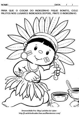 Resultado De Imagem Para Plano De Aula Dia Do Indio Maternal Com