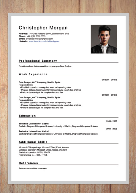 Success story CV Jezza Online cv, Management development