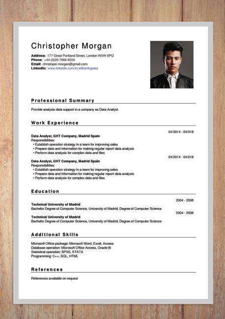 free cv creator maker    resume online builder pdf