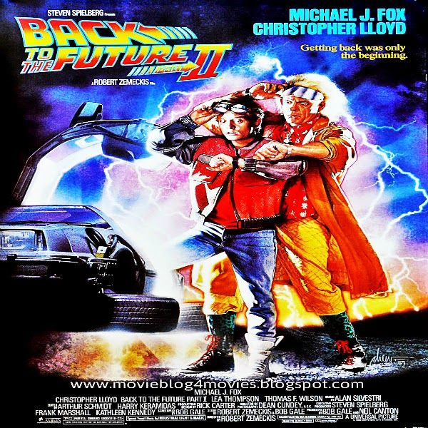 Back To The Future Part Ii 1989 Back To The Future Good