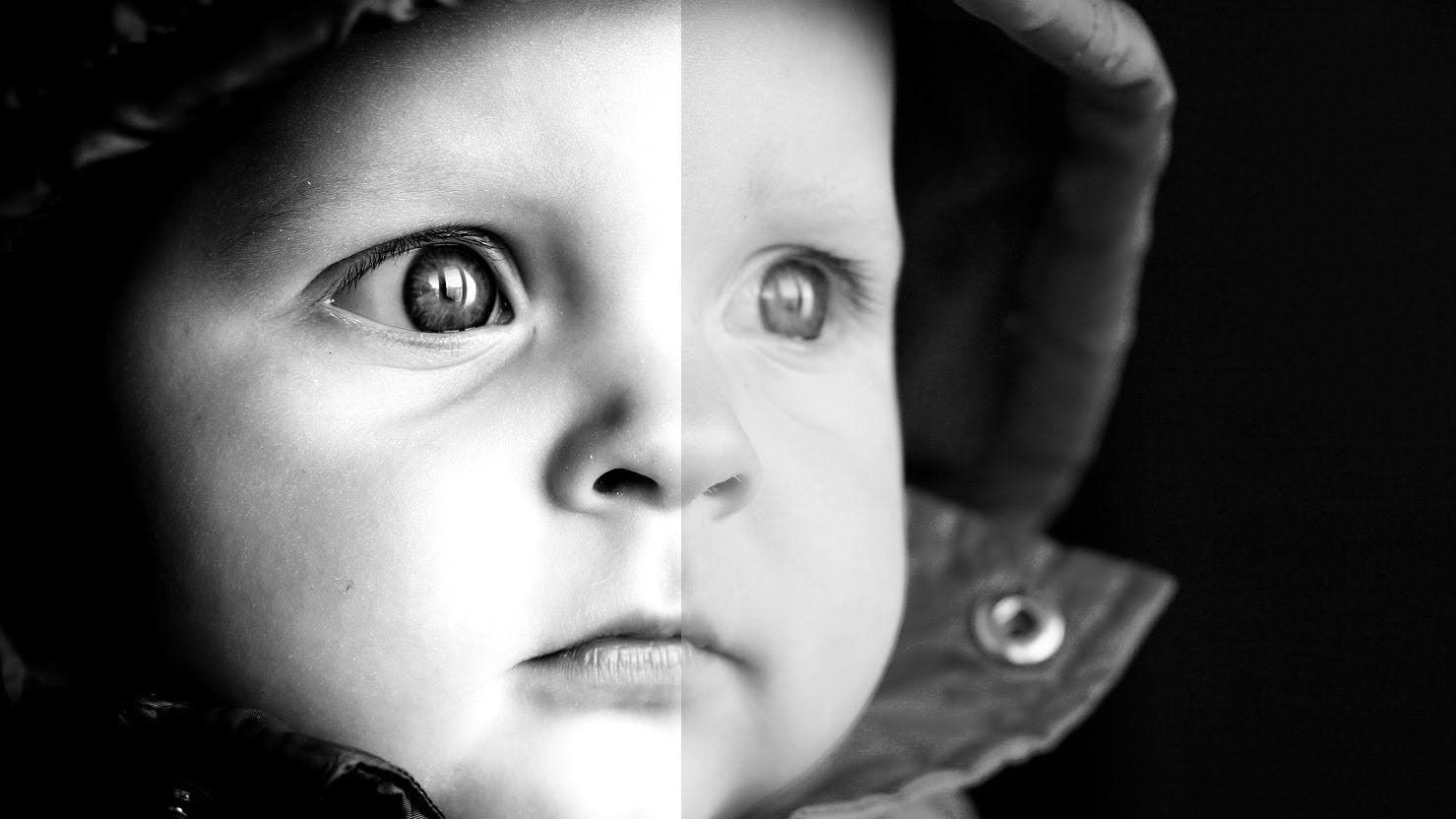Photoshop cs5 tutorial dramatic black white portrait editing