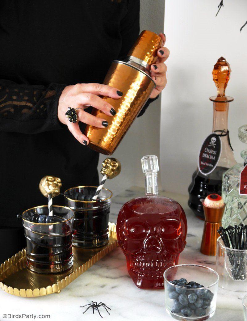 Halloween Cocktail Party Ideas Part - 39: Creepy Nu0027 Chic Halloween Cocktail Party Ideas