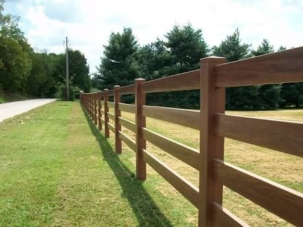 Image Result For 4 Bar Wooden Fence Ranch Fencing Horizontal Fence Farm Fence