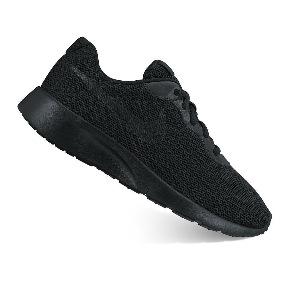 Nike Tanjun Boys' Shoes, Boy's, Size: 5, Black | Nike shoes