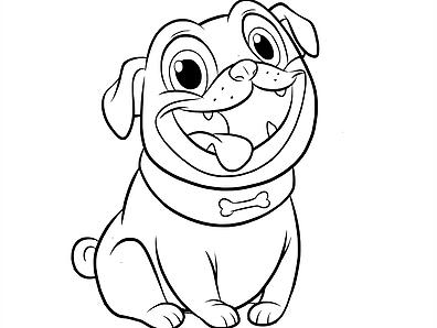 Free Printable Puppy Dog Pals Disney Junior Coloring Pages Puppy Coloring Pages Cartoon Coloring Pages Barbie Coloring Pages
