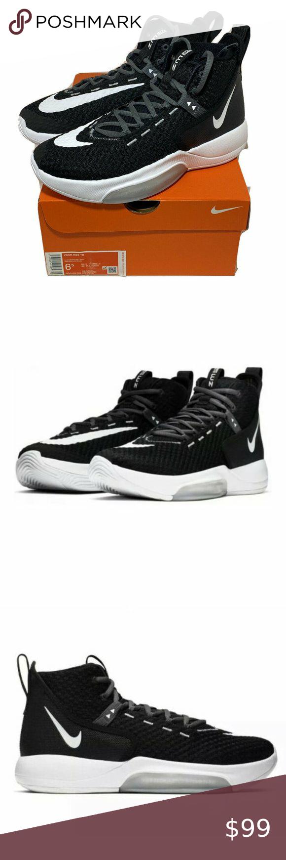 Nike Zoom Rize Tb Black Basketball Shoes Nib In 2020 Black Basketball Shoes Nike Zoom Basketball Shoes