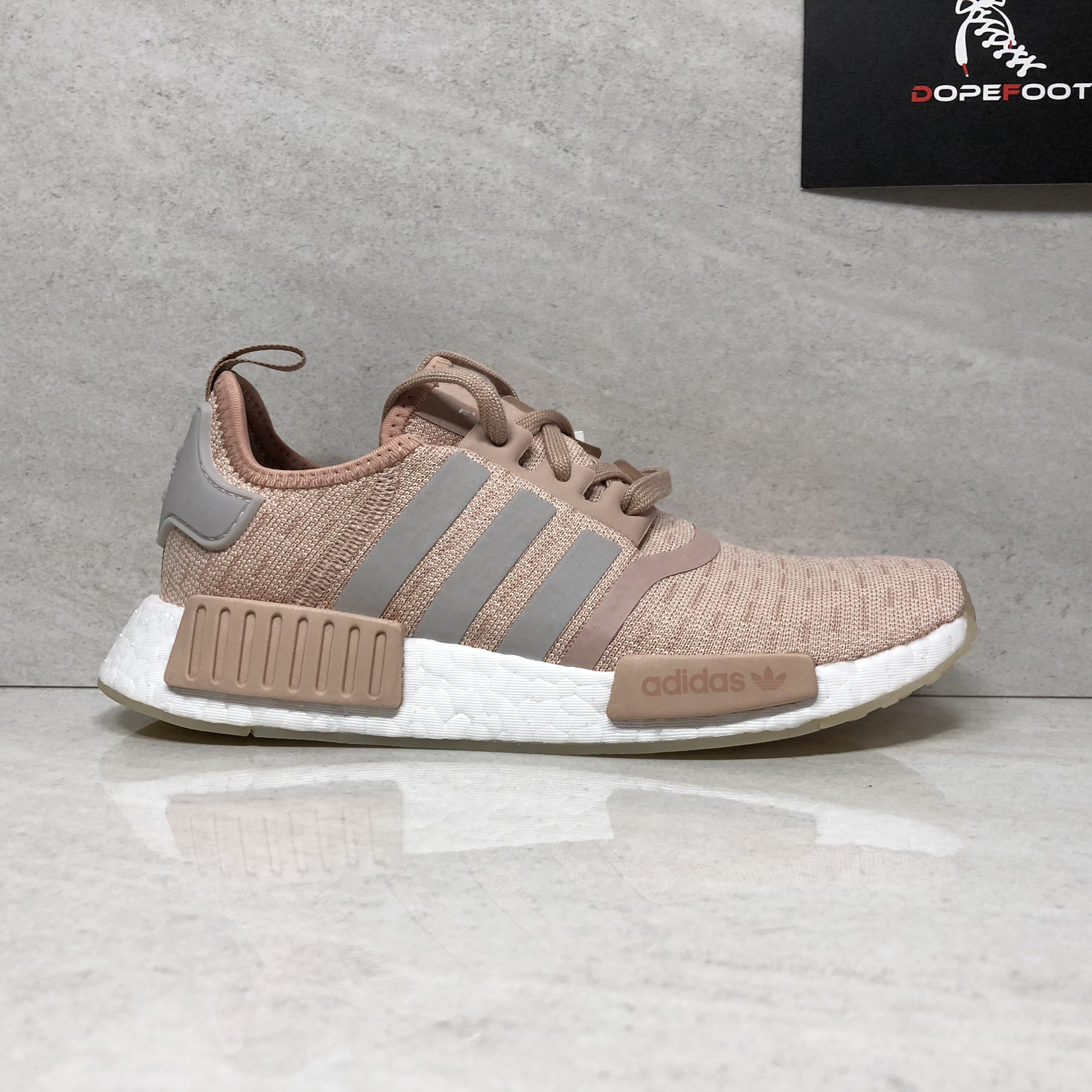 check out fcfa5 518c2 DS Women's Adidas NMD R1 Size 6.5 Ash Pearl CQ2012 | Products ...