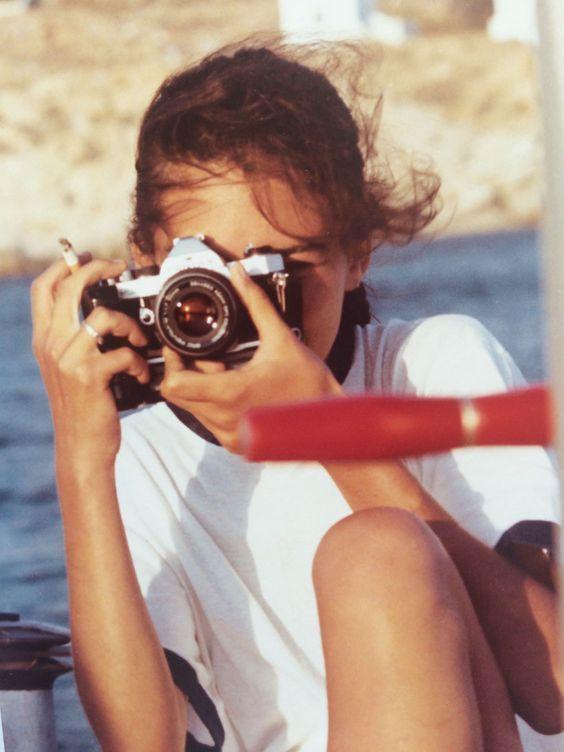 Lizy Manola Releases New Photography Book, Mykonos Muse #vintageaesthetic #vintagephoto #vintagevibes