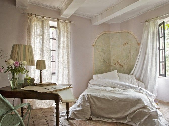 Chambre French country