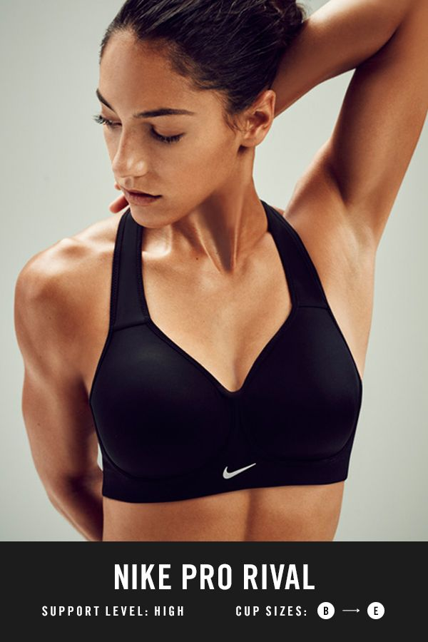 25087579df PRO RIVAL // Our highest support bra yet, the NikeWomen Pro Rival Sports  Bra has a compressive fit that minimizes bounce without feeling too tight.
