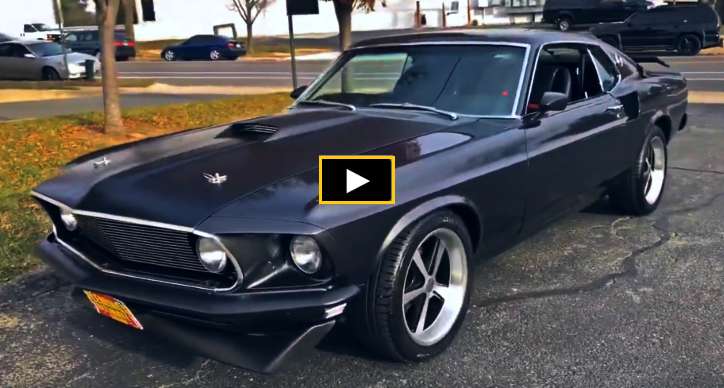 Bad To The Bone 1969 Ford Mustang Mach 1 Build In 2020 Mustang