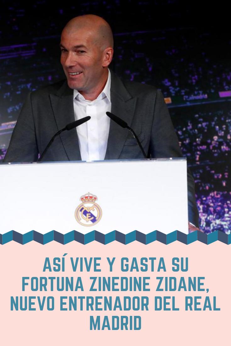 El Técnico Francés Que Logró 3 Champions League Consecutivas Entre 2016 Y 2018 Reemplaza A Santiago Solari Con El Objetivo Zinedine Zidane Real Madrid Zidane