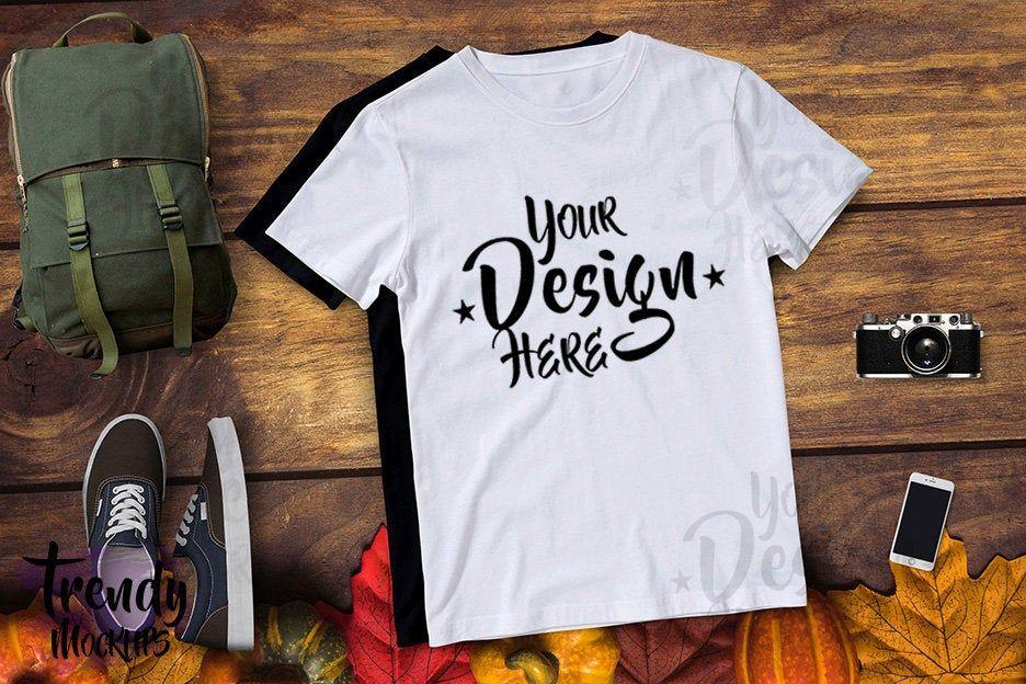 Download Fall Shirt Mockup White Unisex Tshirt Mockup Wood Background Tshirt Mockup Thanksgiving Mockup Fall Mockup Tshirt Fall Shirts Unisex Tshirt Shirt Mockup