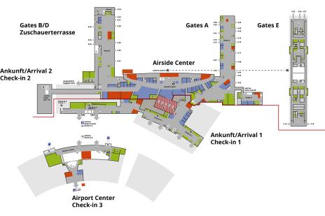 zurich airport gate map Site Plans Flughafen Zurich Site Plans How To Plan Airport Map zurich airport gate map