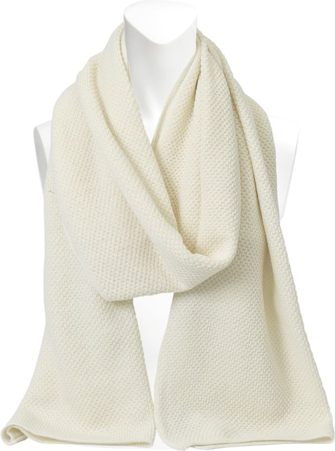 Inverni Wool and cashmere scarf