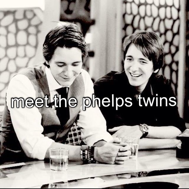 Bucket list: Meet James and Oliver Phelps. First love<3