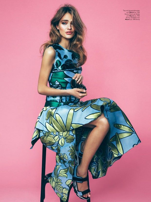 Anna Mila by Christian Oita for Cosmopolitan Germany