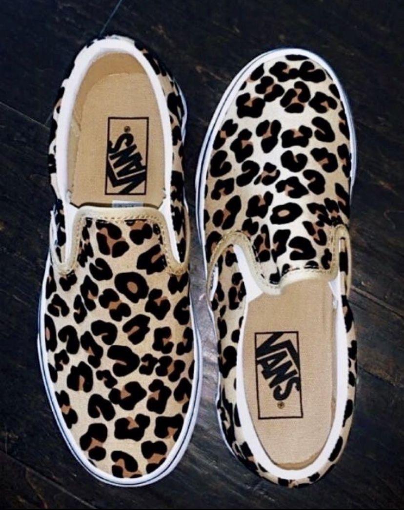 Vans Slip On Skate Shoe - Leopard | Western shoes, Vans slip on ...