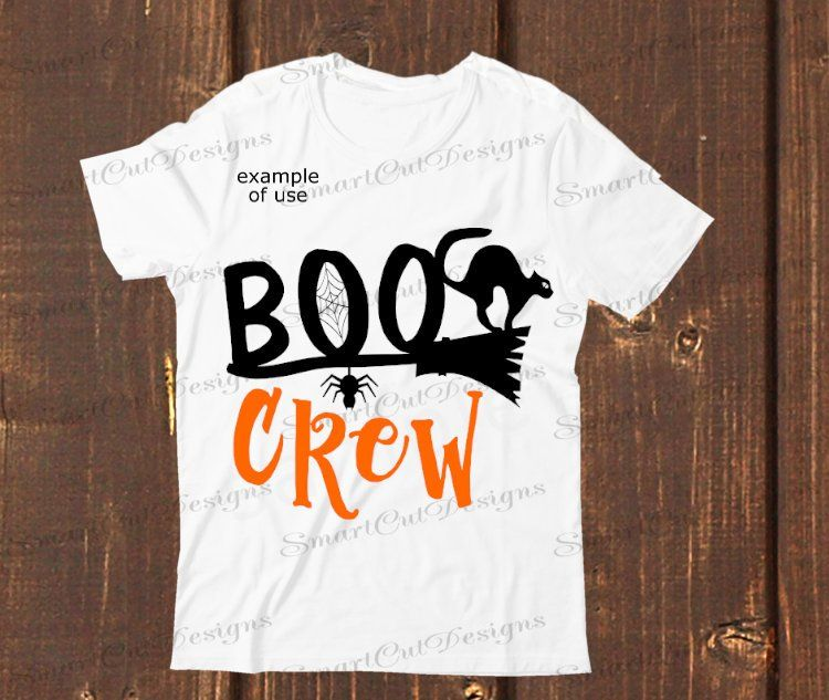 Boo Crew Svg Halloween Kids Svg Boo Svg Broom Halloween Kids Shirt Svg Cricut Svg Silhouette Svg Dxf Cricut Download Iron On Png Halloween Shirts Kids Halloween Kids Kids Shirts
